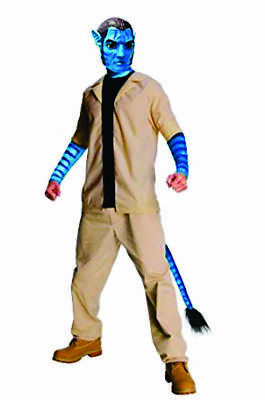 AVATAR'S JAKE SULLY Adult Male Costume Standard Future living Avatar Movie -B32](Adult Sully Costume)