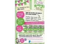 Cheeki Monkeys BIG Baby and Children's Market 23rd July