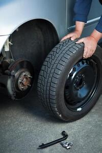 Mobile Summer/Winter Tire swap, rotation or installation for only $40