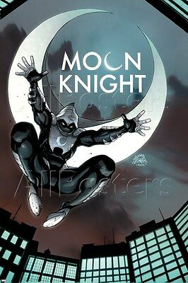 Marvel Marvel Knights Presents: Moon Knight Poster - 24x36 | eBay