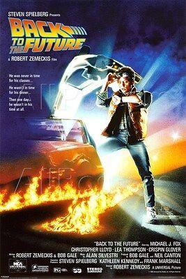 Back To The Future Merchandise (BACK TO THE FUTURE EINE BLATT 91.5X61CM MAXI POSTER NEU OFFIZIELL)
