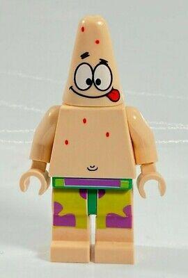 Lego Spongebob PATRICK Minifigure With Tongue Out 3833 Krusty Krab BOB022