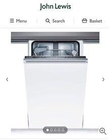 BRAND NEW still n box Bosch SPV40C10GB Fully Integrated Slimline Dishwasher