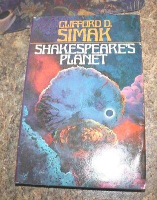 1976 Shakespeare's Planeet Clifford Simak  science fiction HCDJ - f