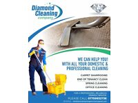 Diamond Cleaning Services - For all your personal and professional cleaning