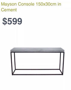 NEW FREEDOM FURNITURE MAYSON CONSOLE Chester Hill Bankstown Area Preview