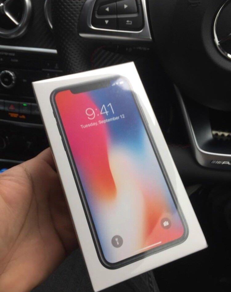 Apple IPhone X 64GB Sealed Brand New 12 Months Apple Warranty