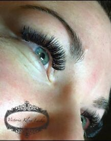 Russian volume lashes - waxing - skincare - massage