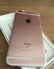 Apple iPhone 6s - 64GB - Rose Gold (Unlocked) Smartphone Pink Brand New Pristine