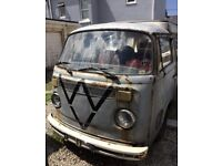1973 VW Camper van T2 Bay window RHD