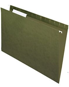 Hanging file folders approx 50 letter size
