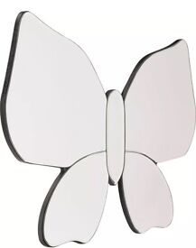 Beautiful Butterfly Wall Mirror - New in Box