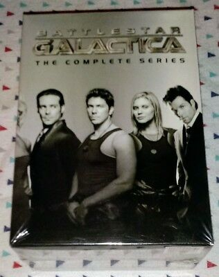 New  Battlestar Galactica  The Complete Series  1 4  26 Disc Box Set  Ships Free