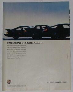 Advert-Pubblicita-1987-PORSCHE-911-TURBO-944-S-928-S4