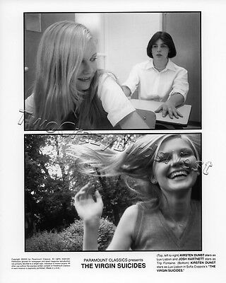 The Virgin Suicides Kirsten Dunst Josh Hartnett 8X10 B W Photo 918