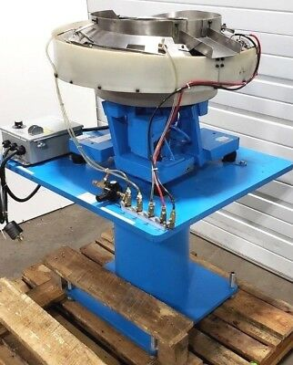 18 Fmc Syntron Vibratory Bowl Parts Feeding Feeder Stainless Steel Ss Ctr 240v