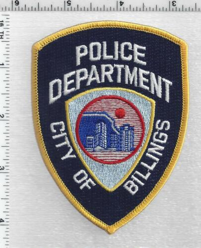 Billings Police (Montana) 2nd Issue Shoulder Patch