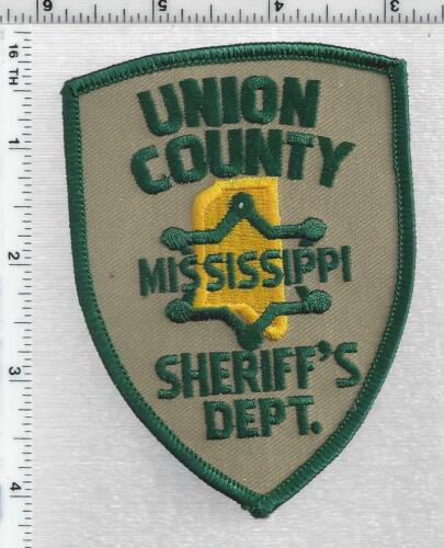 Union County Sheriff (Mississippi) 1st Issue Shoulder Patch