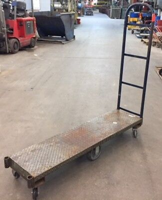 U-BOAT STEEL PLATFORM TRUCK DOLLY UTILITY CART, 60