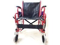 Brand new self proppeled lightweight wheelchair