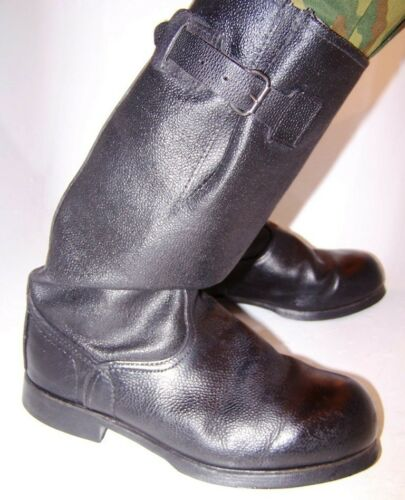 Soviet Russian Army Military Jack Boots with belts size 45, 46, 47/US12, 13, 14
