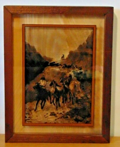 Lucid Lines Frederic Remington Photography On Glass Picture - Geronimo  1974