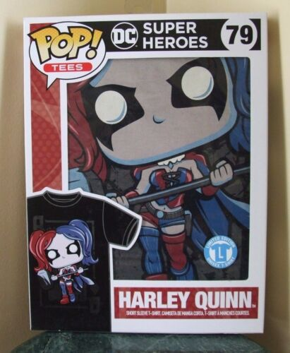 Limited Edition Harley Quinn Pop! Tees Short Sleeve T-Shirt  by Funko - Unisex L