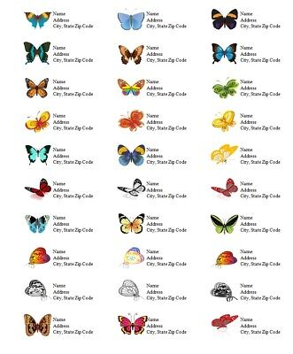 Personalized Address Labels Butterflies All Pictures Buy 3 Get 1 Free But 2
