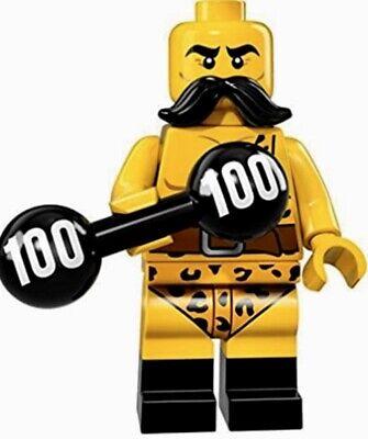 LEGO 71018 STRONGMAN # 2 THE SERIES 17 MINIFIGURES NEW RETIRED ORIGINAL