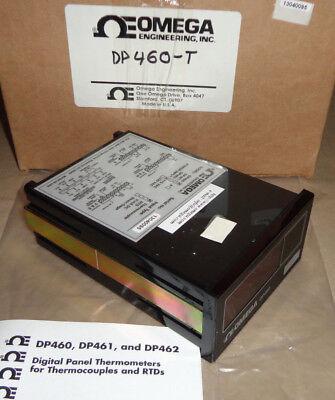 Omega Dp460-t Temperature Panel Meter Dp460t New