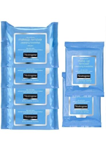 Neutrogena Make Up Remover Cleansing Facial Towelettes Refil