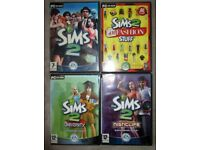 SIMS 2 COMPUTER GAME PC CD ROM x4