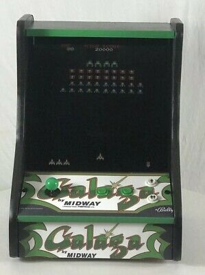 GALAGA, MS PACMAN UPRIGHT/COUNTER TOP MACHINE! PACMAN, DONKEY KONG.NEW! 60 games
