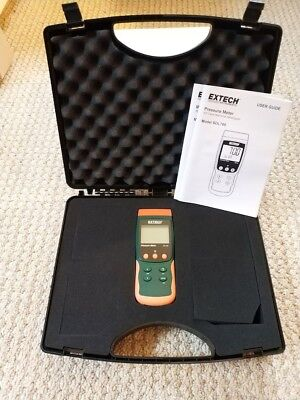 Extech Instruments Sdl700 Pressure Meterdatalogger New With Case
