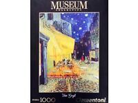 Van Gogh 1000 piece Jigsaw Puzzle: Cafe Terrace at Night