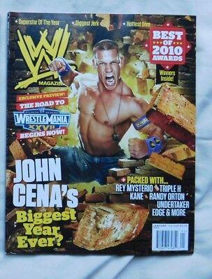 WWE MAGAZINE January 2011 JOHN CENA