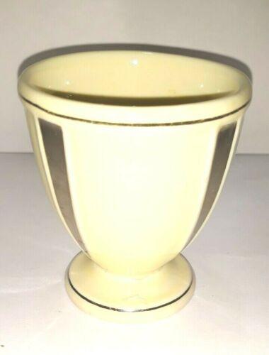 Vintage  Art Deco Hankscraft #740 Porcelain Footed Egg Cup