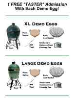 Large Demo Big Green Egg - used 1 day only!