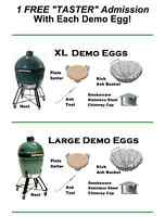 XL Demo Big Green Egg - used only 1 day!