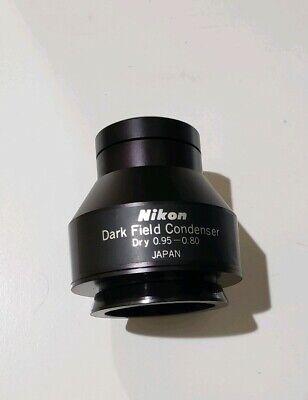 Nikon Optiphot Labophot Dry Dark Field Condenser 0.95-0.80 Na
