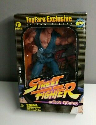 Used, NEW STREET FIGHTER ACTION FIGURE EVIL RYU ToyFare Resaurus 1999 for sale  Shipping to India