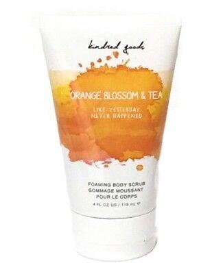 New ~ Kindred Goods Orange Blossom And Tea Foaming Body Scrub 4 fl. oz