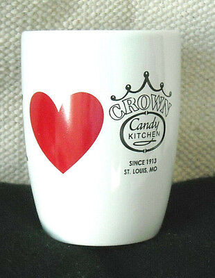 I  (HEART) CROWN CANDY KITCHEN (ST. LOUIS, MO) COFFEE MUG