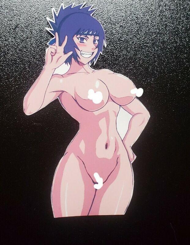 Sexy Naruto Hentai  premium vinyl Stickers