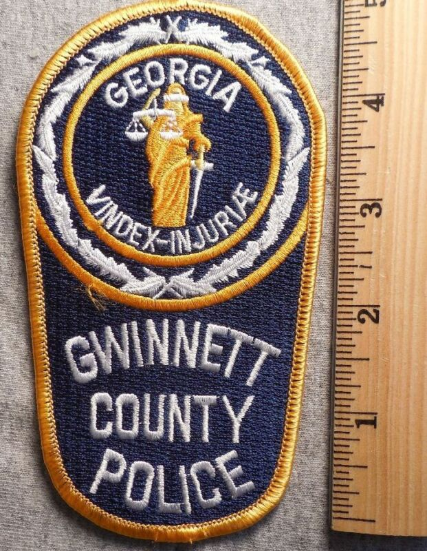 GWINNETT COUNTY GEORGIA POLICE PATCH (HIGHWAY PATROL, SHERIFF, EMS)
