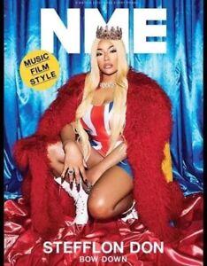 2 x NME Magazine 9 March Stefflon Don Kim Deal Krysten Ritter LAST EVER ISSUE UK