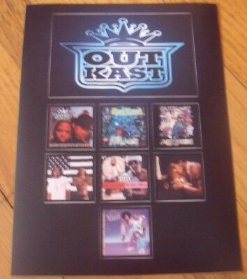 Outkast Promo Sticker Set Record Store Day 2014 Lot of 2 RSD Rare