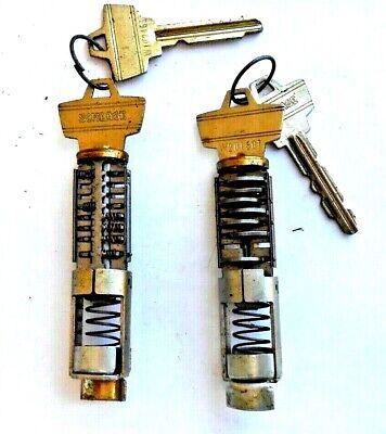 2 Vintage Oem Schlage  Cylinders  Locksmith Collectors...