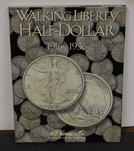 Harris and Co. New Folder  #2693 Holds Walking Liberty Half Dollar 1916-1936