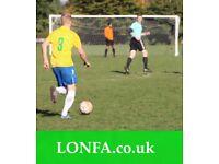 Find a football team in Leeds. Find football near me. Sunday football league 9NR